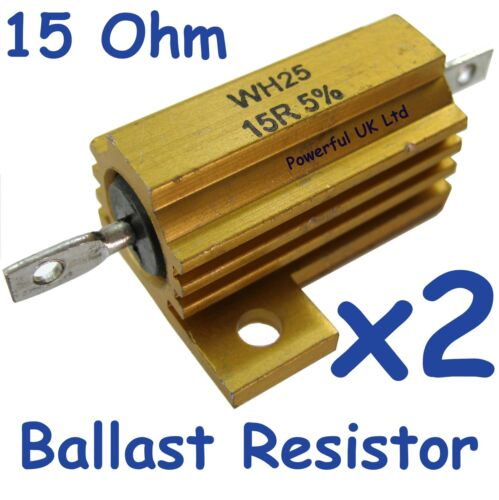 for Range Rover L322 2010 lamps upgrade LED rear light ballast Resistors x2