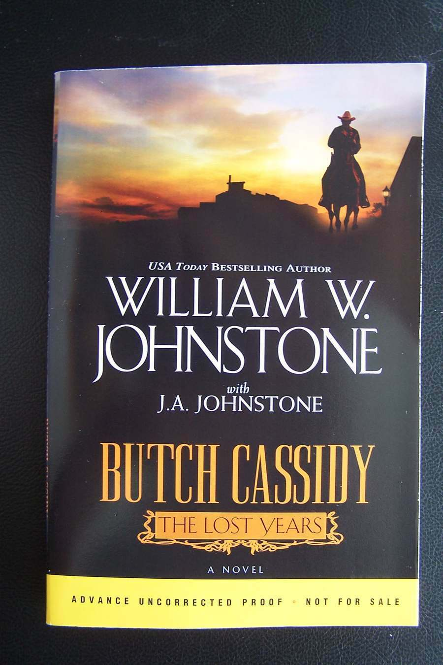 William W. Johnstone, J. A. Johnstone Butch Cassidy the