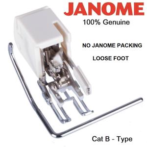 Guide No Cat B GENUINE JANOME OPEN TOE WALKING FOOT NO PACKING 200339007