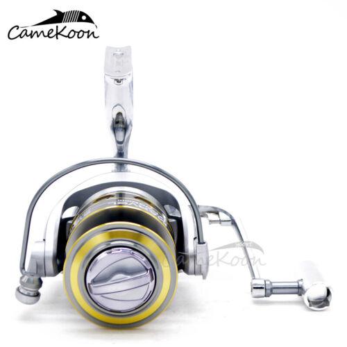 CAMEKOON Spinning Fishing Reel w// Powerful Metal Body 5.2:1 Saltwater Surf Reel