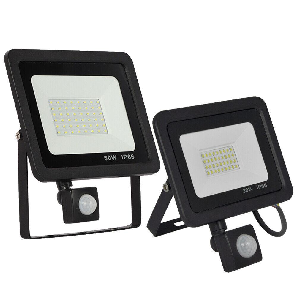 30W 50W LED Kaltweiß Fluter Flutlicht mit Bewegungsmelder Wasserdicht Außen Außen Außen IP66 | Ausgezeichneter Wert  | Rich-pünktliche Lieferung  | Für Ihre Wahl  cdf063