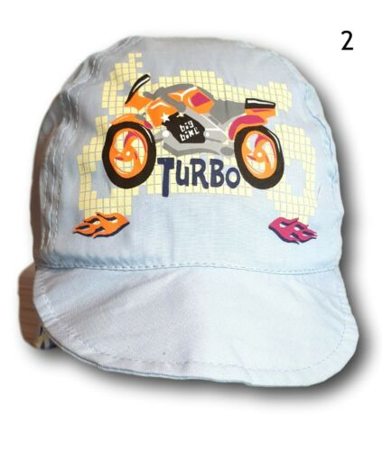 Boys Kids Toddler Summer Beach Holiday Hat Cap Sun Protection  2-5 Years Turbo