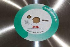 Mk Diamond Premium 18 Green Concrete Wet Diamond Walk Behind Floor Saw Blade