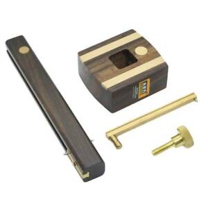 Ebony-With-Brass-Screw-Marking-Mortise-Gauge-Vingate-1pc-Measuring-Hand-Tool-LI