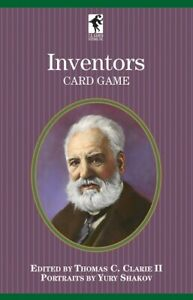 Inventors  of the Authors Series PLAYING CARD DECK U.S. GAMES