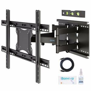 Flexible-Double-Arms-LCD-LED-TV-Wall-Bracket-37-40-42-43-46-47-50-55-60-65-70-80