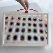 Large, 270 Pieces Quercetti Fantacolor Portable Peg Set