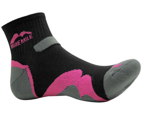 MORE MILE MENS WOMENS LADIES OREGON ANKLE RUNNING TRAIL SPORTS CUSHIONED SOCKS 3