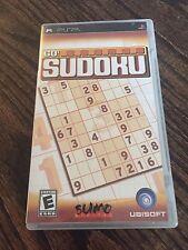 Go Sudoku Sony Psp Game Cib Complete X1