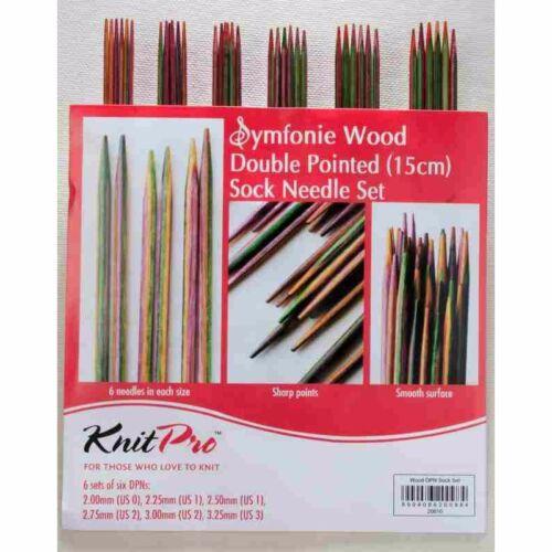 """tricot aiguille /""""symfonie/"""" 15 CM 2,50-5,00 MM kpi20651 KnitPro set aiguille Jeu"""