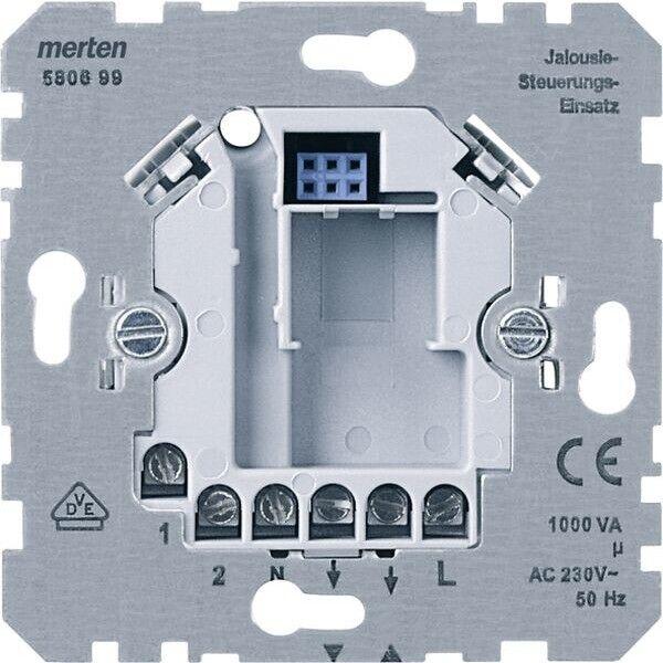 Merten 580699 Jalousiesteuerungseinsatz 230V mit Nebenstelle Jalousie-steuerung