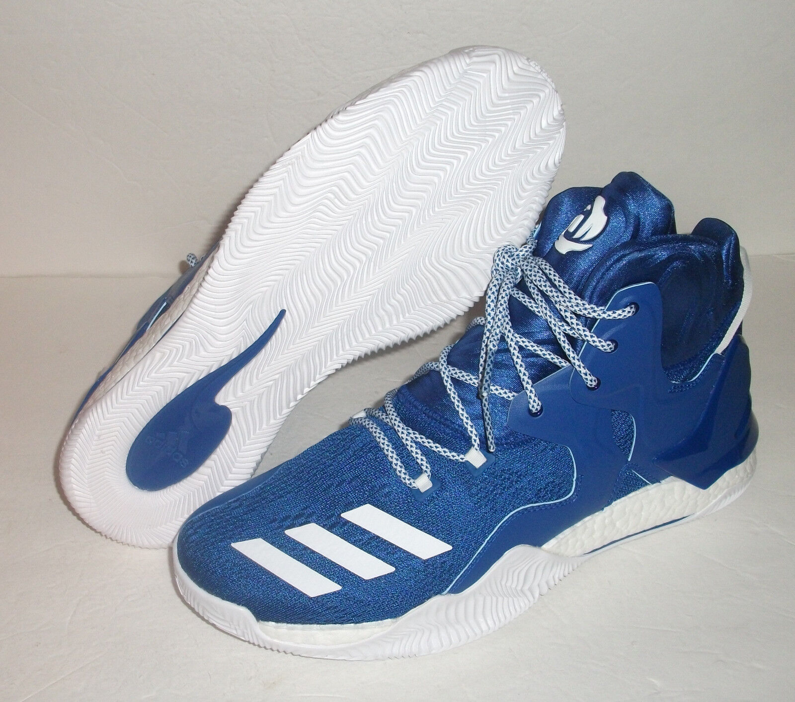 New Adidas D Rose Size 7 Basketball Shoes, Men's Size Rose 13, Blue, Sty#B38922 038c42
