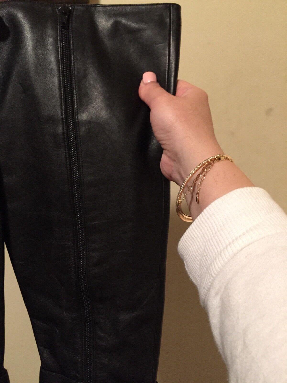 Kelsie Dagger genuine Leder tall 8 Stiefel sz 8 tall 13871d