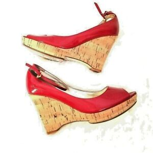 Guess~Marciamo~Red Patent~Leather