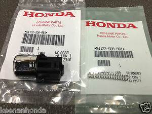 Genuine Oem Honda Accord Shifter Handle Shift Button Knob
