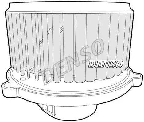 Interior Blower DENSO DEA43004