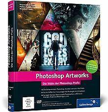 Photoshop-Artworks-Die-Tricks-der-Photoshop-Profis-ak-Buch-Zustand-gut