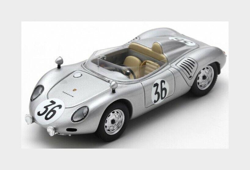 Porsche 718 Rsk  36 24H Le Mans 1959 Godin De Beaufort C.Heins SPARK 1 43 S4679
