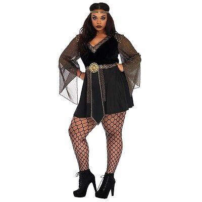 Leg Avenue Black Magic Mistress Plus Size Adult Womens Halloween Costume 85475X