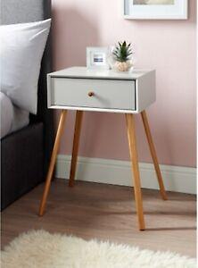 Détails sur Design contemporain Bjorn de chevet table de chevet élégante  détient un Tiroir-Pierre- afficher le titre d\'origine