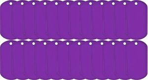 Purple-Coated-Stainless-Steel-US-Military-Dog-Tag-25-Pack