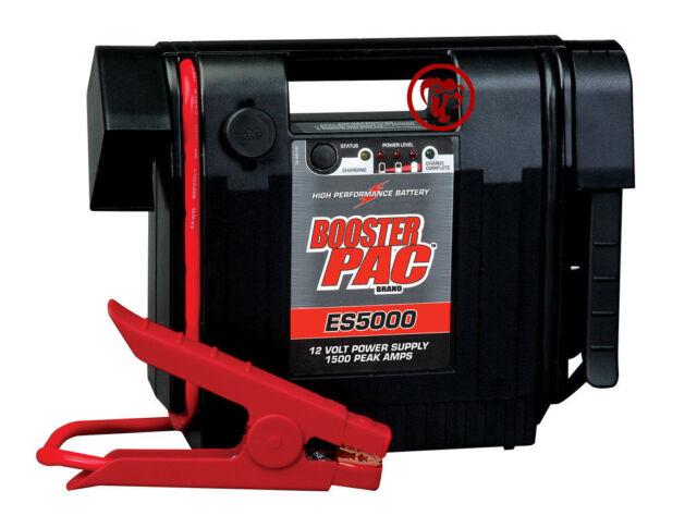 Solar Booster Pac ES5000 1500 Peak Amp 12v Jump Starter for sale