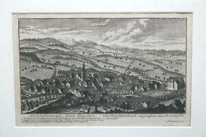 Kupferstich-Kirchensittenbach-Land-Pfleg-Amt-von-Christoph-Melchior-Roth-um-1760