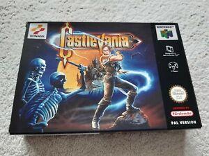 Castlevania ~ Nintendo 64 N64 Pal En Caja Completo Coleccionistas