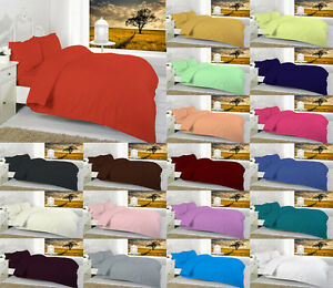 Fitted Sheet Polycotton Single Double King Super King 4ft