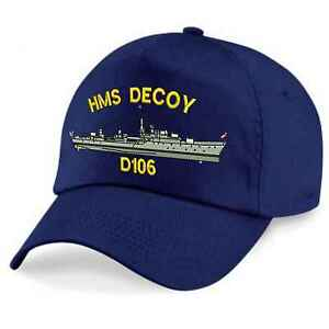 Daring Class 2nd and 5th Destroyer Squadrons Embroidered Baseball Caps & Beanies