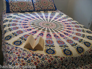 Indian-Mandala-Bed-Cover-Hippie-Handmade-Bed-Cover-Throw-Tapestry-Boho-Bed-Sheet