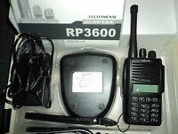Relm Rp3600 Uhf 128 Channels 400 470 Mhz Field Programmable Ham Rpu3600 Radio