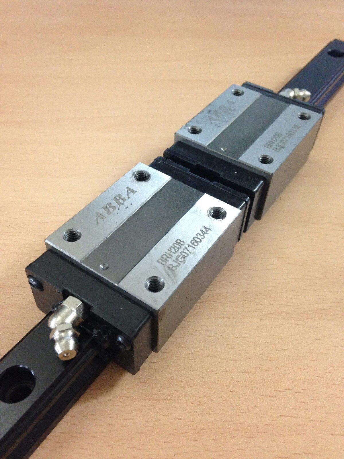 BRH20B+340mm Linear Bearing ABBA Used LM Guide THK HSR20R NSK CNC Route