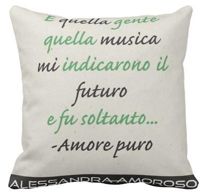Cuscino Personalizzato Alessandra Amoroso Frase D Amore 3 Idea
