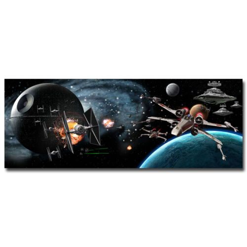 Star Wars Games Art Silk Poster 24x64 inch Space War