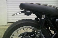 Kawasaki W650 W800 Cafe Racer guardabarros trasero Acero inoxidable
