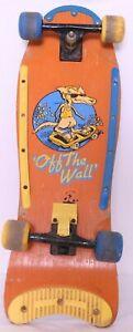 VTG-1980-039-s-Vans-Off-The-Wall-Orange-Old-School-Wheels-Trucks-Deck-Skateboard
