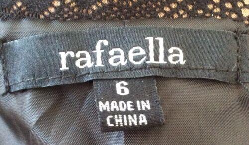Sz Wmns Giacca di Carriera 128 nylon marrone nylon ret in nero Rafaella 6 blazer Nwt 100 CUqpTT