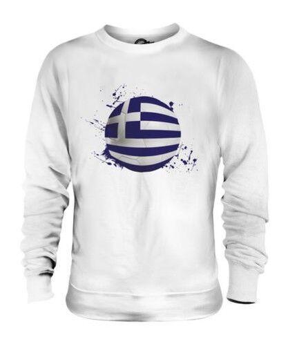Griechenland Fußball Unisex Pullover Top Geschenk Weltmeisterschaft Sport