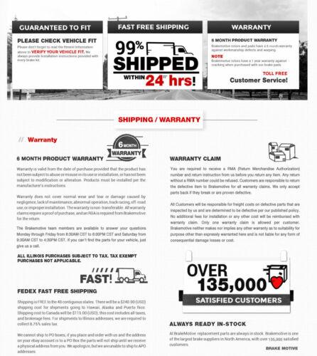 For  2003-2011 HONDA ELEMENT 2002-2004 CR-V Front Red Brake Disc Calipers