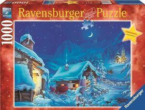 RAVENSBURGER CHRISTMAS PUZZLE*1000 T*WINTERWUNDER<wbr/>LAND*WEIHNACHT<wbr/>EN*RARITÄT*OVP