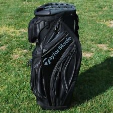 TaylorMade Golf 2016 Catalina Cart Bag 15-Way Top Black & Charcoal - NEW
