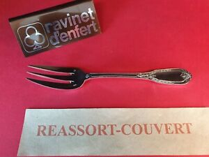 Fork-Fish-17-cm-the-Swans-Ravinet-Very-Beautiful-Condition-Metal-Silver