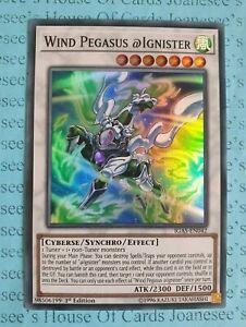 Wind Pegasus @Ignister - Super Rare IGAS-EN042 1st Edition