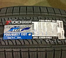 4 New 265 65 17 Yokohama Geolandar H/T G056 Tires