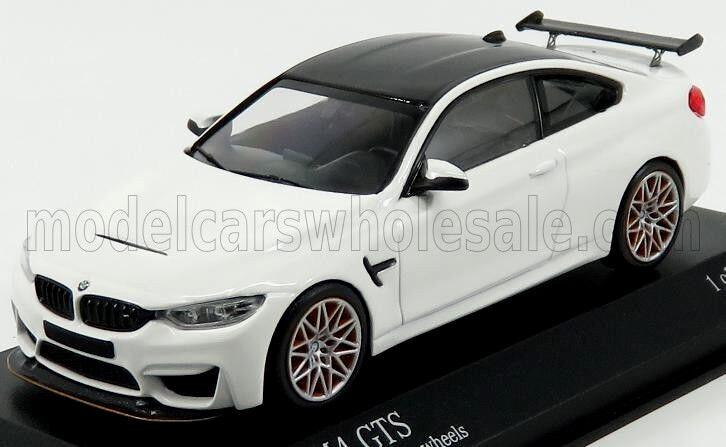 Wonderful MINICHAMPS-modelcar BMW M4 GTS COUPE (F82) 2016 - alpina white - 1 43