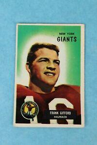 1955-7-BOWMAN-FRANK-GIFFORD-NEW-YORK-GIANTS-FOOTBALL-TRADING-CARD