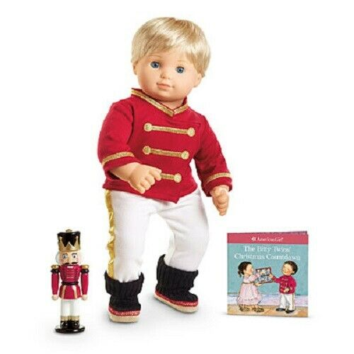 American Girl Bitty Twins Toy Soldier Outfit /& Nutcracker New In Box