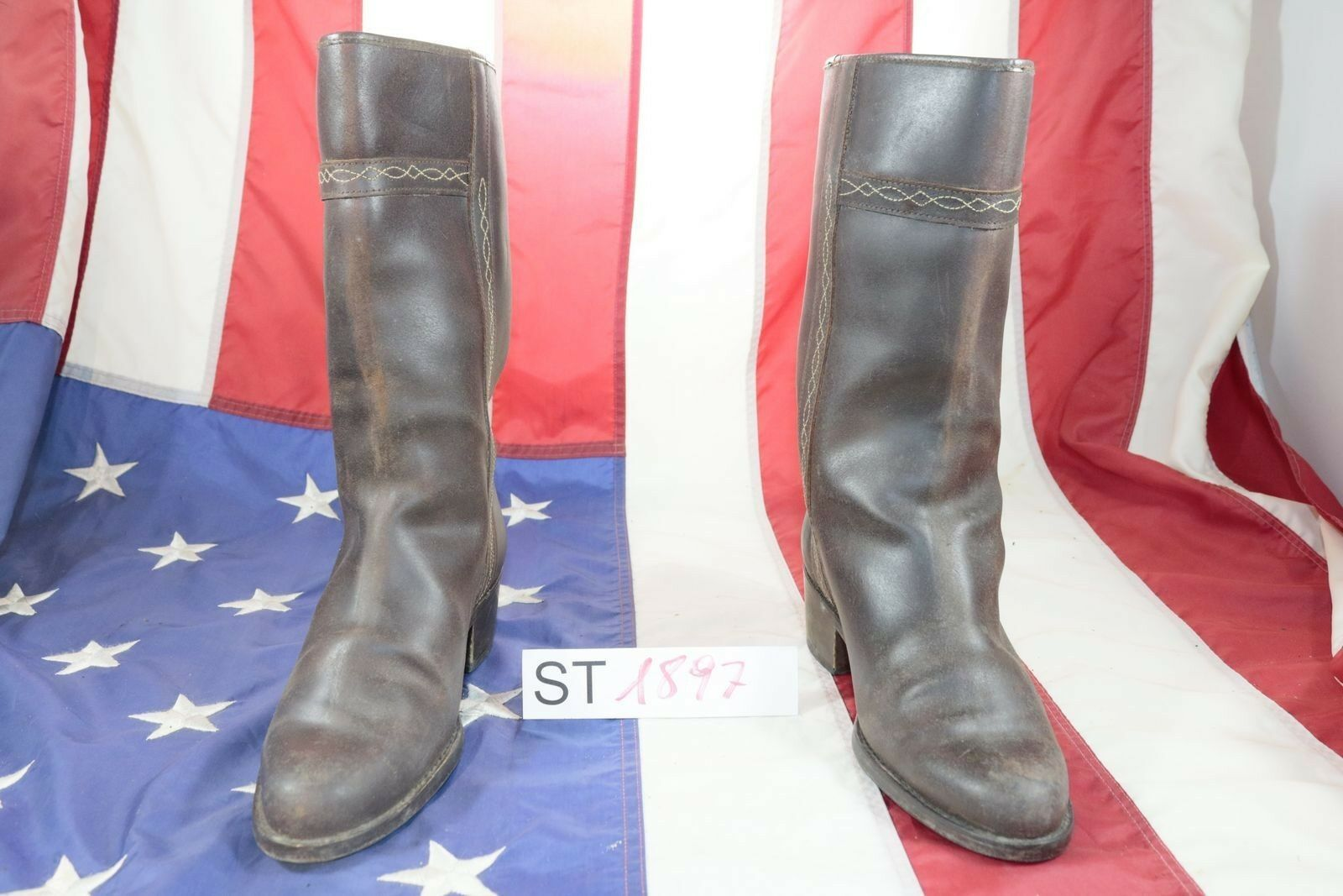 Boots Roberto garruno Valgreen (cod. st1897) used n.40 Womens Brown Leather