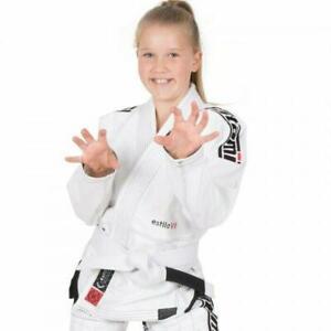 Tatami-Kids-Jiu-Jitsu-BJJ-Gi-Suit-Estilo-6-0-White-Black